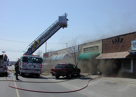 Commercial Street Fire