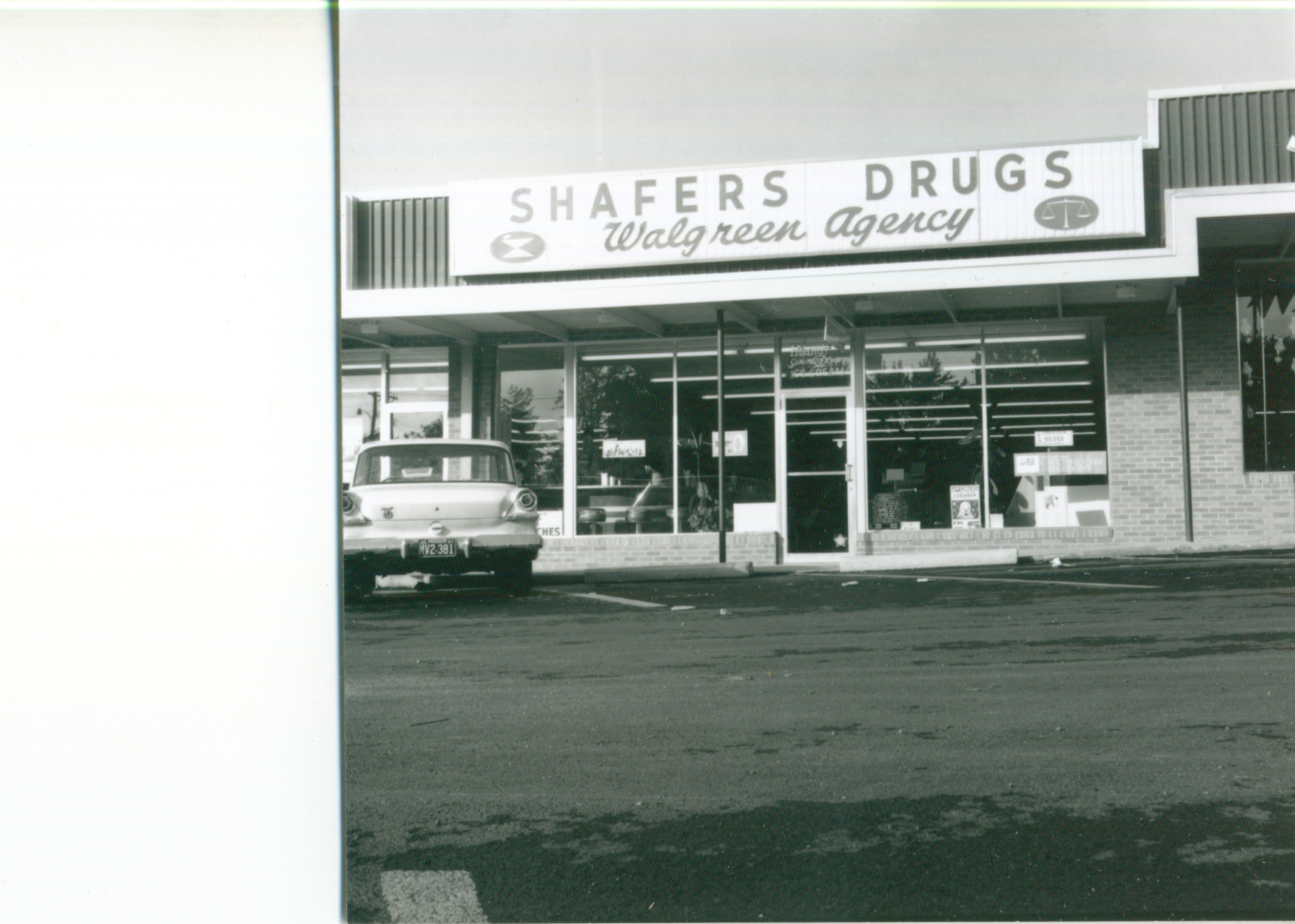 Shafers Drugs Walgreens