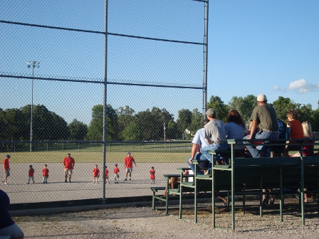 T-Ball Crowd